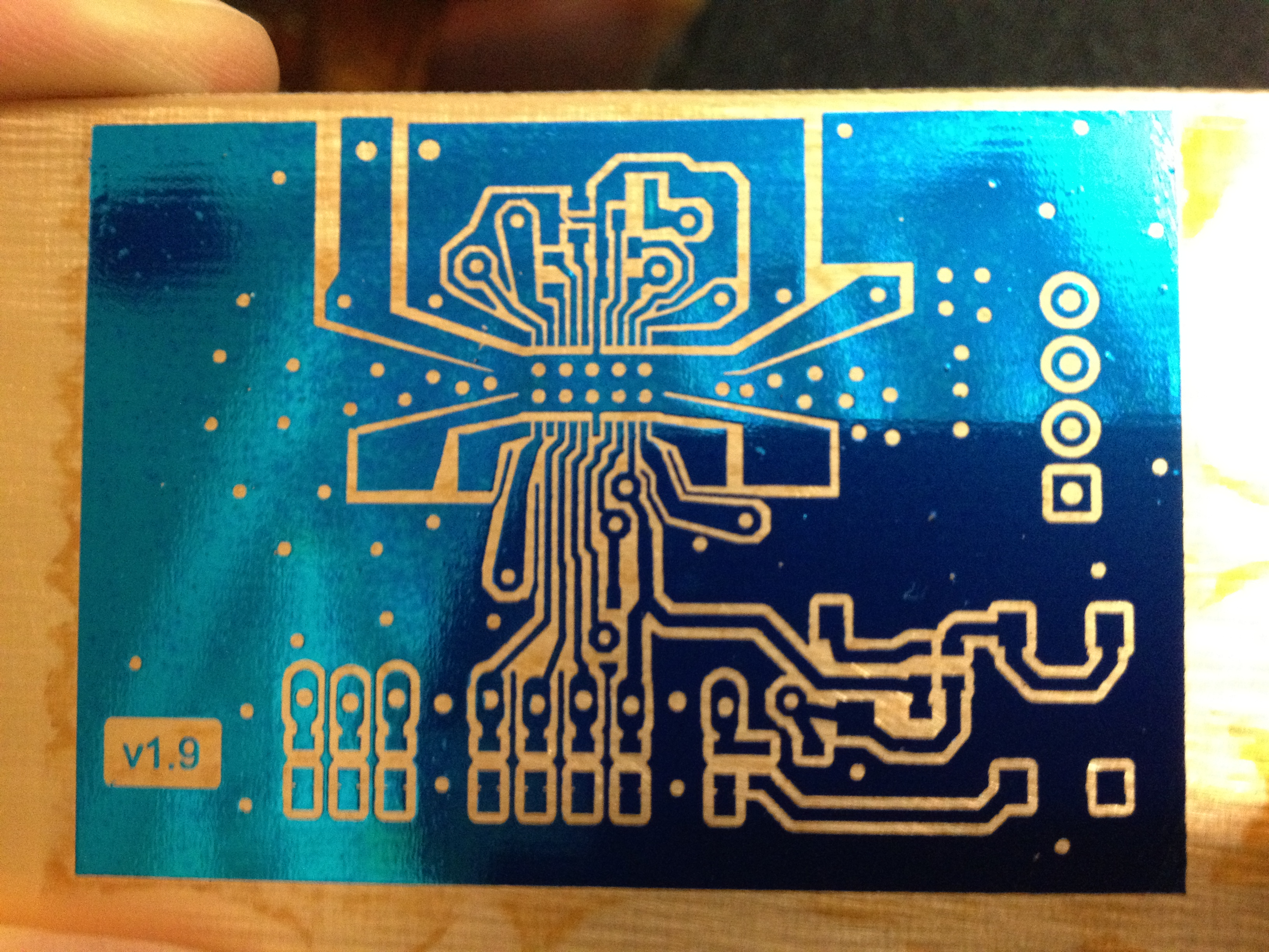 Perfect single or double sided PCBs with the Toner Transfer