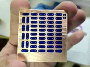 Double Sided Test Board Ready To Etch
